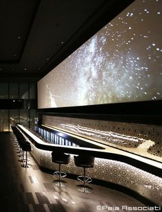 Sky Lounge bar, Doha, 2015 - Peia Associati
