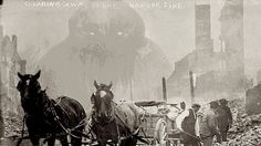 Insane GIFS put Cthulhu and mechs in old Library of Congress photographs