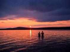 Celebrating summer nights. #visitlapland #Posio #Finland…