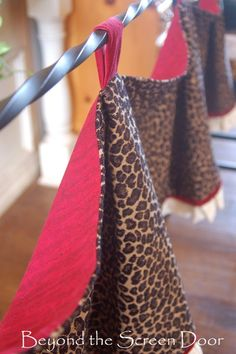 Lining Detail on Cheetah Valance (2)