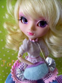Pullip Doll Full Custom Taffy Sweetwater by Hey*Dollface