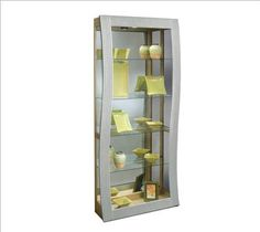 contemporary curio cabinets | Curio Cabinet Spot Offers Super Bowl Savings  on Select Curio Cabinets .