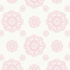 Suzani pink behang $49.95