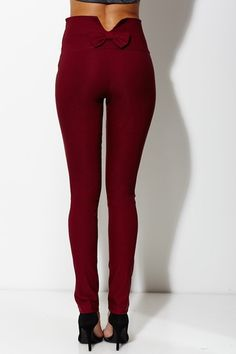 Little Bow Peep High-Waisted Wine Pant only $19.99