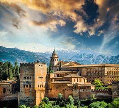 Imagen:ThinkstockPhotos La #Alhambra de #Granada