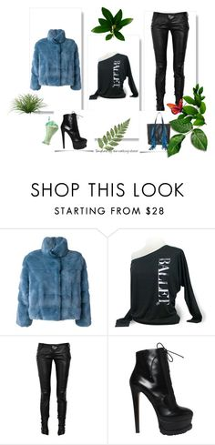 """Outfit #922"" by the-walking-doctor ❤ liked on Polyvore featuring Simonetta Ravizza, Balmain, Alaïa and Sara Battaglia"