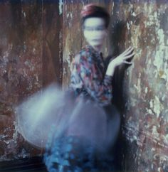 Photographer, artist Wendy Bevan  The soft movement is just superb