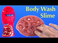 DIY Body Wash Slime Without Glue!! 2 Ingredients Slime No Borax or Face Mask - YouTube