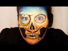 Beautiful Death Skull Series: Salvador Dali Skull - YouTube