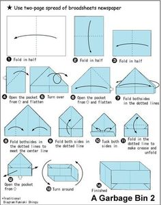 Another paper box origami #tutorial
