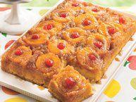 Easy Pineapple Upside-Down Cake recipe from Betty Crocker