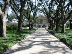 Longvue House and Gardens, Louisiana