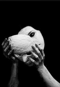 "Susannah Benjamin. ° ""We understand how dangerous a mask can be, we all become what we pretend to be"""