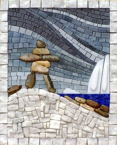 Sentinel by Terry Nicholls  -  Maplestone Gallery  -  Contemporary Mosaic Art