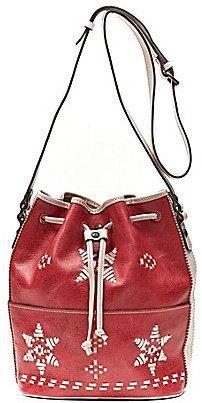 Patricia Nash Evora Drawstring Cross-Body Bag