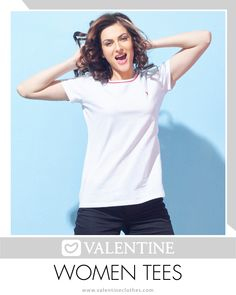 Enjoy Everyday Comfort Without compromising on Style. Valentine T-shirts brings you the perfect companion this Summer. Shop now at https://valentineclothes.com/women/women-top.html #Tshirts #Fashion #Fashionista #Valentine #ValentineClothes #MadewithLove #happyShopping