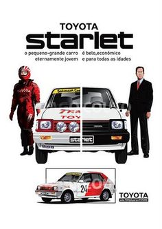 Toyota Starlet Sprint KP61 Brochure, 1980 to 1984