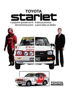Toyota Starlet Sprint KP61 Brochure, 1980 to 1984