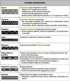 Patrón respiratorio