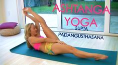 Ashtanga Yoga: Supta Padangusthasana with Kino