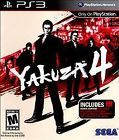 Yakuza 4 for the PS3 - GOOD CONDITION- CHECK MY OTHER AUCTIONS - FAST SHIPPING!