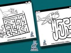 Free printable maze coloring pages for kids Bear Coloring Pages, Printable Coloring Pages, Coloring Pages For Kids, Coloring Books, Mazes For Kids Printable, Free Printables, Preschool Activities At Home, Business For Kids, Maze Game