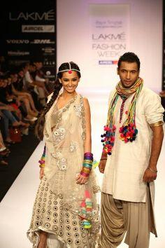 Lakme Fashion Week! high low lengha...hmm