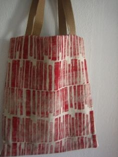 a nice block printed bag