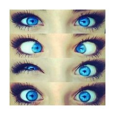eyes We Heart It ❤ liked on Polyvore featuring beauty products, makeup, eye makeup, eyes, beauty, pictures, backgrounds and filler