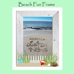 Say it in the Sand-High Resolution Digital Images with Choice of Digital Frame Border-FREE SHIPPING on Etsy, $35.00