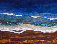Beach Too by Deebs Fiber Arts