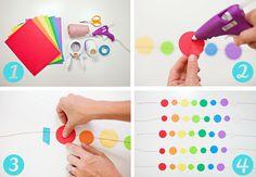 How to make Rainbow Balloon Tassels