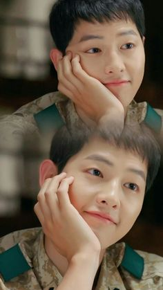 "Are you part of the ""Descendants of the Sun"" Song Joong Ki craze? Whether you're a new fan of Song Joong Ki or not, surely you'll agree on one of the reasons we listed here why we fell for Captain Si Jin and/or Song Joong Ki. Song Joong Ki was popular. Song Joong, Song Hye Kyo, Korean Celebrities, Korean Actors, Soon Joong Ki, Decendants Of The Sun, Oppa Gangnam Style, Sun Song, Moorim School"