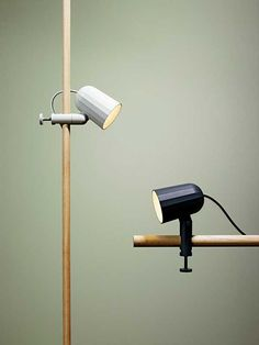 Noc Light by Hay is a practical and modern LED spotlight. Power saving, easy to fastenanywhere and with a touch of industrial design - Noc Light is more than a useful everyday he Interior Lighting, Lighting Design, Desk Lamp, Table Lamp, Studio Decor, Blitz Design, Clamp Lamp, Vintage Industrial Lighting, Vintage Light Fixtures
