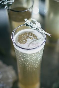 Sage + Ginger Prosecco Cocktail by Beth Kirby | {local milk}, via Flickr