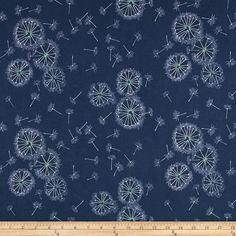 f52e80adece7 Art Gallery Sketchbook Knit Tiny Dancer Midnight from @fabricdotcom  Designed for Art Gallery Fabrics,