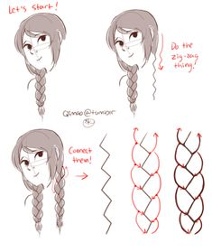 hair styles - Art References