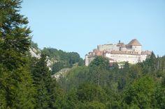 Château de Joux dans le Doubs prêt de Pontarlier....