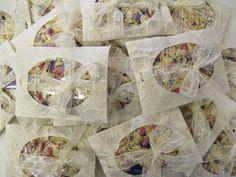 The Confetti Blog - Confetti Envelopes Magnolia Wildflowers with a few Rainbow Delphinium Petals
