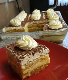 Greek Sweets, Greek Desserts, Greek Recipes, Food Presentation, Vanilla Cake, Tiramisu, Cake Recipes, Recipies, Good Food