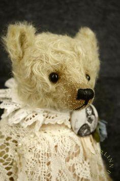 Shabby Billie One Of a Kind Mohair Artist Teddy door aerlinnbears