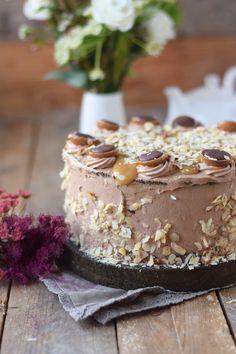 Karamell Nougat Haselnuss Toffifee Torte - Caramel Hazelnut Chocolate Cake | Das…