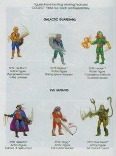He-Man Galactic Guardians action figures