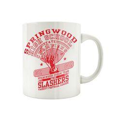 Mug Freddy Krueger - Springwood Slasher – Tsilemewa Freddy Krueger, Officiel, Mugs, Clowns, Tableware, Boutique, Horror Makeup, Products, Accessories