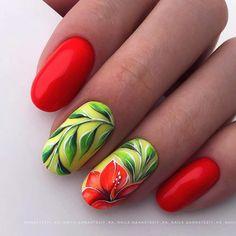 Pink White Nails, Red Nails, Swag Nails, Hair And Nails, Rose Nail Art, Flower Nail Art, Best Nail Art Designs, Toe Nail Designs, Cute Nails