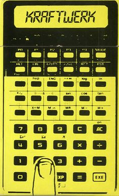 Kraftwerk,Pocket Calculator,UK,Deleted,CASSETTE SINGLE,8451