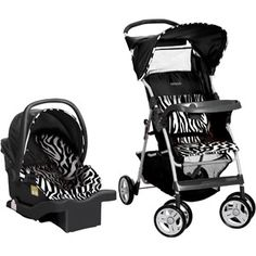 Cosco Commuter Travel System, Zahari Stripe it rich with the Zahari Collection! A real-life zebra living in a world-class zoo inspired this authentic zebra Car Seat And Stroller, Baby Car Seats, Travel Systems For Baby, Baby Bundles, Baby Diaper Bags, Traveling With Baby, My Baby Girl, Baby Baby, Future Baby
