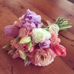 Ramo de Novia, Bride, FLores, Lisianthus, tulipanes