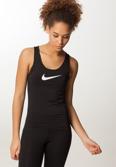 Nike Performance PRO COOL - Linne - black/white 249 kr