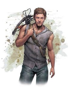 Daryl Dixon is a fictional character from the horror drama series The Walking Dead. Created by writers Frank Darabont, Charles H. Eglee and Jack LoGiudice he is portrayed by Norman Reedus. Younger brother of Merle Dixon. Despite his ill temper and volatility, Rick Grimes values him as an important member of the group for his skills at hunting, tracking, navigating, and fearless efficiency in killing zombies. Daryl's weapon of choice is his crossbow originally a Horton Scout HD 125. He now…